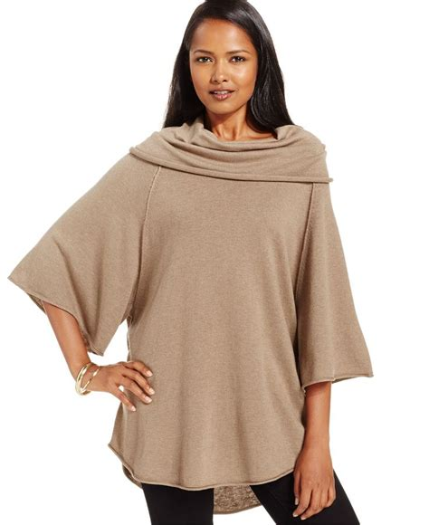 style and co sweaters style co cowl neck capelet top only at macy 39 s