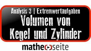 Kegel Volumen Berechnen : volumen kegel und volumen zylinder berechnen ~ Themetempest.com Abrechnung