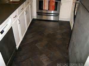 diy herringbone quot tile quot floor peel stick vinyl knock it east coast creative