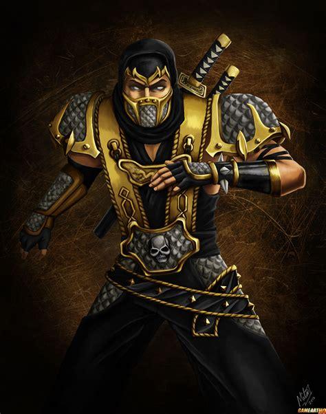 Scorpion From Mortal Kombat Deception