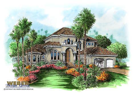 Mediterranean Home Design  Savona House Plan  Weber