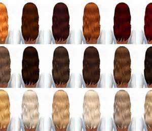 Ombre Hair Recolor Sims 4