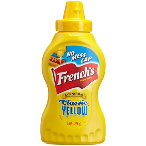 prepared mustard products french s classic yellow prepared mustard