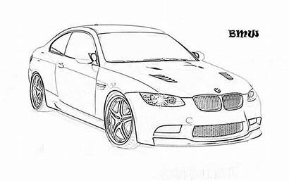Coloring Pages Cars Colouring Printable Muscle Luxury