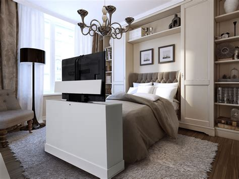 Bedroom Tv Cabinet by End Of Bed Tv Lift Cabinets For Flat Screens