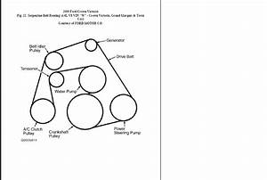 32 Ford F250 Serpentine Belt Diagram