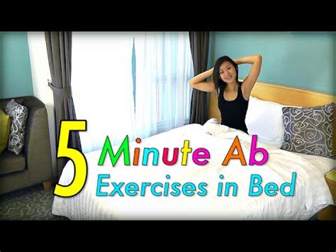 in bed 5 minute ab exercises in bed