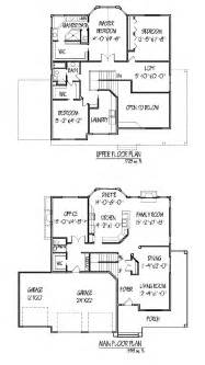 two story home floor plans two story house plan