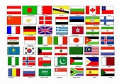 Flags Of Countries | printable flags