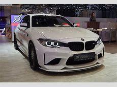 2017 Geneva BMW M2 with 420 hp tuning from Hamann Motorsport