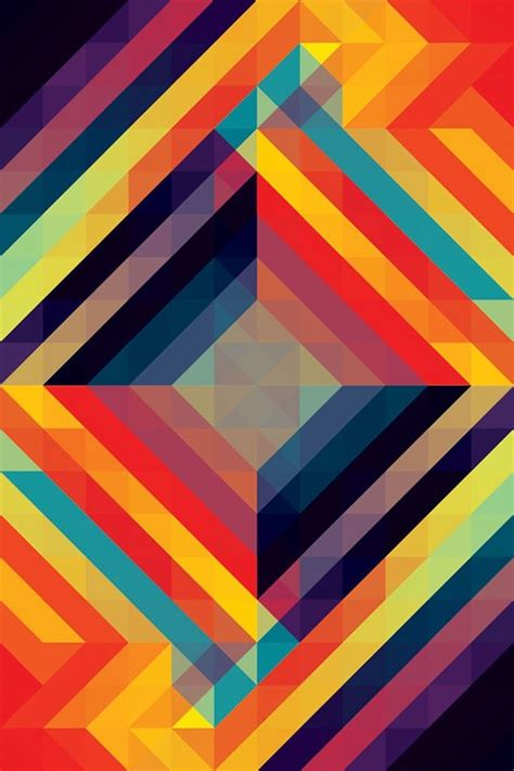 Geometric Wallpaper For Phone by 40 Geometric Iphone Wallpapers To Decorate Your Screen