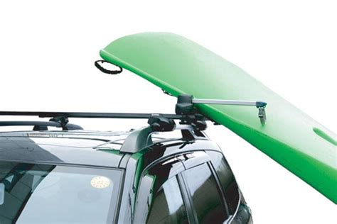 kayak roof rack inno canoe kayak lifter free shipping from autoanything