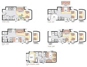 winnebago view class c motorhome floorplans