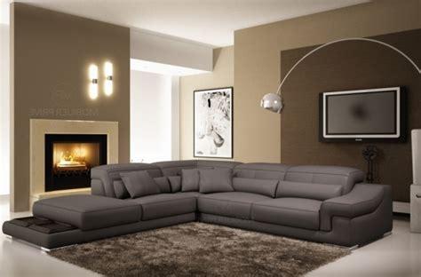 vente privé canapé canape d angle cuir gris canap d 39 angle 3 places croute