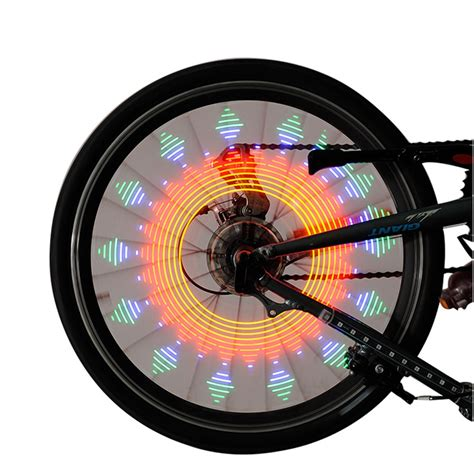 Wheel Lights by Colorful Bicycle Bike Wheel Spoke Light Led L