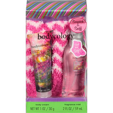 Bath Gift Sets At Walmart by Bodycology Enchanted Forest Sock Gift Set 3 Pc Walmart