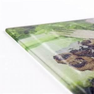 Topflappen Foto Bedrucken : glasschneidebrett mit fotos fotocollage selbst gestalten ~ Lizthompson.info Haus und Dekorationen