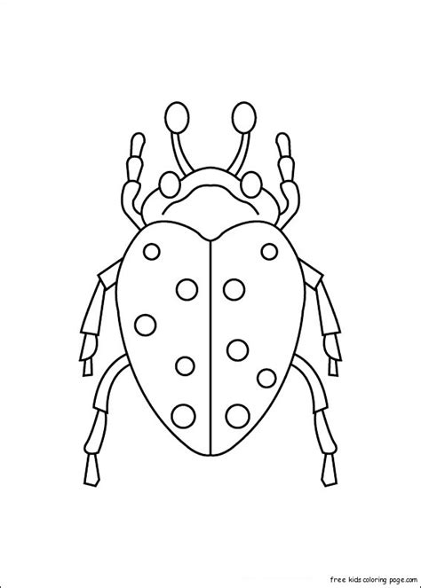 Coloring For by Print Out Insects Carrion Beetles Coloring Pagesfree