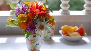 Flowers in Vase Wallpaper - WallpaperSafari