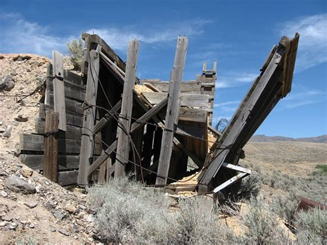 Old Millworks Near Orovada, Nevada | Orovada is a census ...
