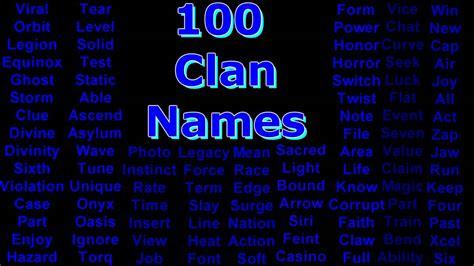 Epic Anime Girl Names Over 100 Unused Clan Names Youtube