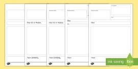 ks diary entry writing checklist primary resource