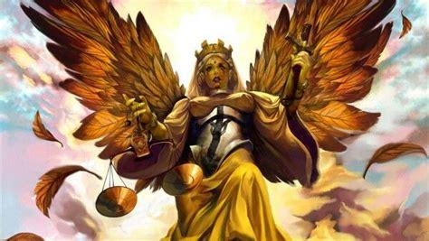 foto de Angeles Balanza de la justicia Ángel guerrero Ángeles