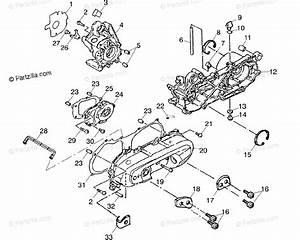 Polaris Atv 2001 Oem Parts Diagram For Crankcase