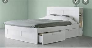 Ikea Bett Gebraucht : ikea brimnes bett kaufen auf ricardo ~ A.2002-acura-tl-radio.info Haus und Dekorationen