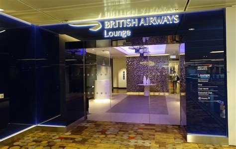 Review British Airways Lounge Singapore  One Mile At A Time