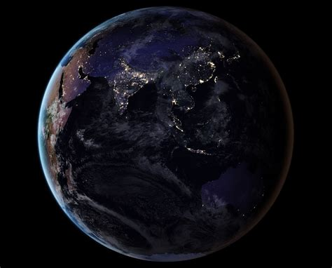 Newest Nasa Satellite Photos Of The Earth At Night