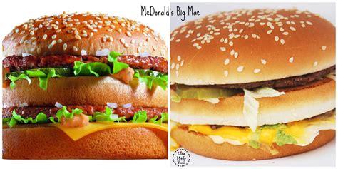 fast cuisine big mac fast food appearance vs made
