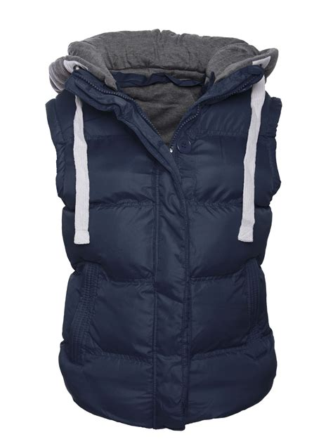 womens quilted vest womens bodywarmer gilet sleeveless vest quilted