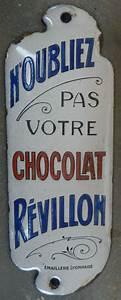 Plaques émaillées Anciennes : plaque maill e ancienne de propret chocolat r villon publicitaire bistrot ebay mail ~ Medecine-chirurgie-esthetiques.com Avis de Voitures