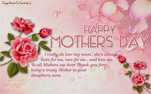 Happy Mothers Day Quotes Greeting Cards Wallpapers with ...