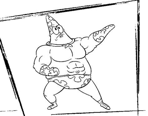 disegni da colorare e stare spongebob disegno di spongebob supergenialone da colorare