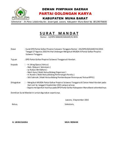 Contoh Surat Suara Pemilihan Kepala Desa Suratmenyuratnet