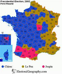 France. Presidential Election 2002 | Electoral Geography 2.0