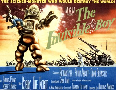 The Strange Career Of Robby The Robot « Mountainlaurels