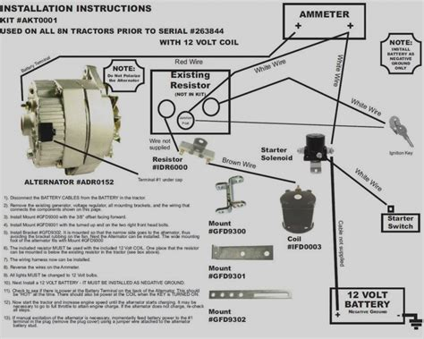 Wiring Diagram For Ford 8n 12 Volt by Ford 9n 12 Volt Conversion Wiring Diagram Collection