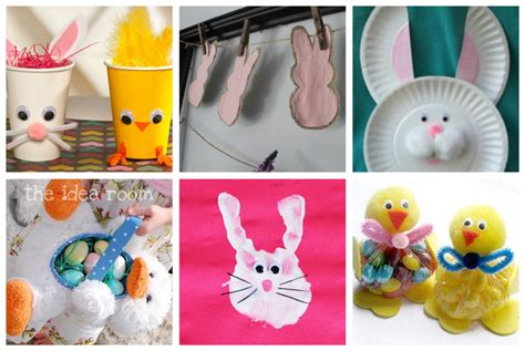 easter crafts amp food ideas 366 | Easter Bunny Chick Crafts