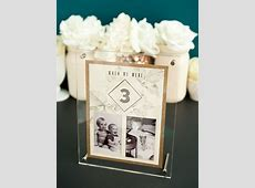 The Best DIY Wedding Table Numbers Ever! MUST SEE! Table