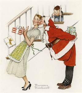 The Photos Behind Norman Rockwell's Iconic Holiday ...