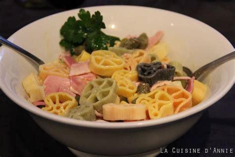recette salade de p 226 tes au jambon la cuisine familiale un plat une recette