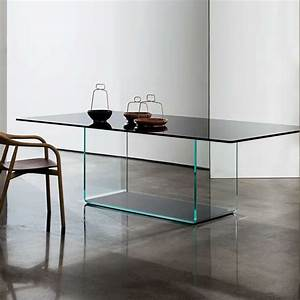 table de salle a manger design en verre valencia sovet With table en verre design salle a manger