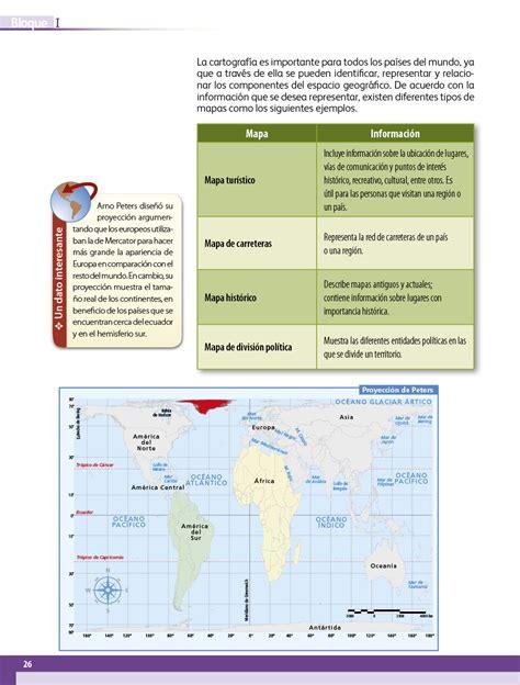 Libro de cuaderno de actividades geografia 6 grado 2019 contestado paginas 33 a la 35. Geografía quinto grado 2017-2018 - Página 26 - Libros de ...