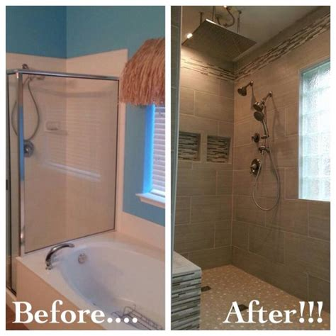 bathroom shower door ideas bathroom remodel removed garden tub to room for a