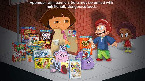 dora  explorer hawks junk food  kids   drug pusher   ad adweek