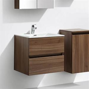 le monde du bain meuble salle de bain design simple With meuble 75 cm largeur