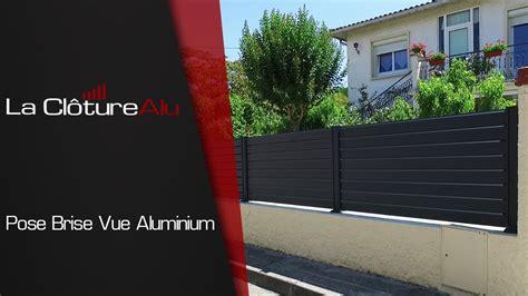Pose D'une Cloture Aluminium Lacloturealu.fr